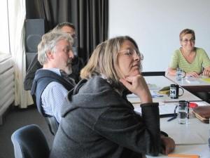 Von vorne nach hinten: Christel Bulcraig, Franz Lindinger, Alexander Wenzlik und Renate Grasse.
