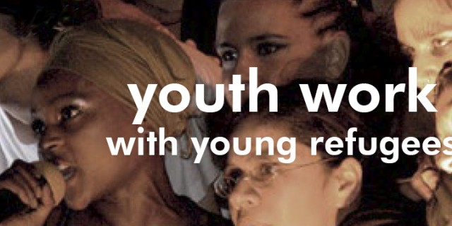 Youth work with young refugees