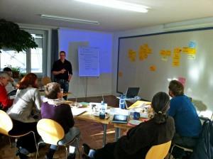 Strategieworkshop mit Studenten der Universität der Bundeswehr München