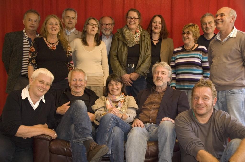 Ein Gruppenbild der Vollversammlung